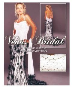 Rochie colorata Venus Bridal