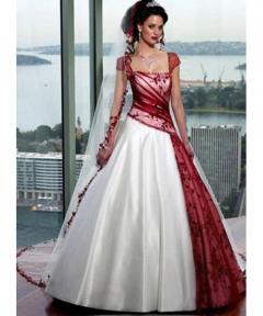 Rochie mireasa colorata Ayana Bride