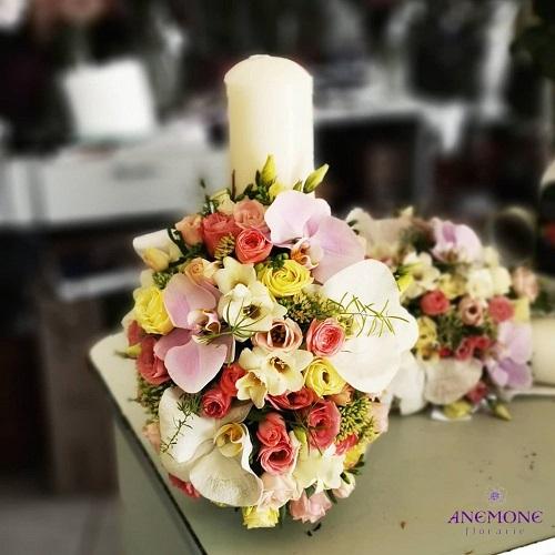 aranjament floral de nunta