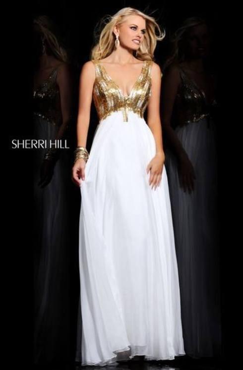 Sherri Hill 21044 (Ivory Romania)