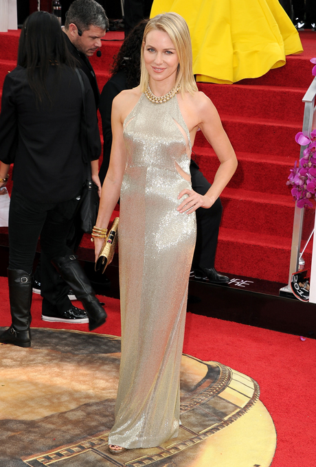 Naomi Watts; designer: Tom Ford