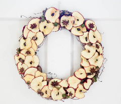 Coronita din mere uscate