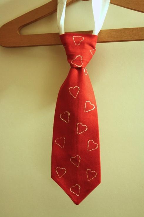 Cravata pentru mire de Valentine's Day