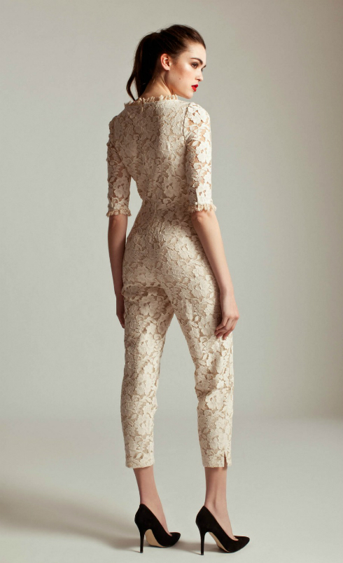 Salopeta de mireasa ALICE by Temperley