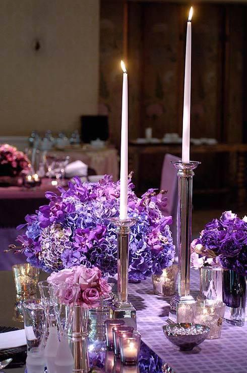 Radiant Orchid pentru nunti