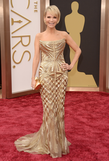 Kristin Chenoweth in rochie Roberto Cavalli