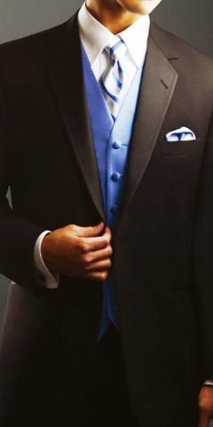 vesta si cravata mire albastre