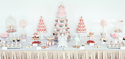 Candy bar realizat de Grace Couture Cakes