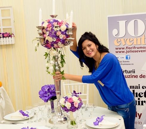 Otilia Caloian - Event manager si coordonator florarie online