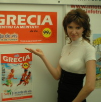Claudia Gabriela Paun, Manager Vacanta de vis