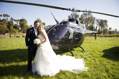 Elicopter de inchiriat la nunta