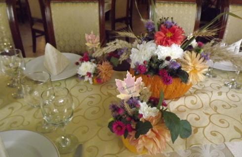 Aranjament floral realizat de Justine Decor