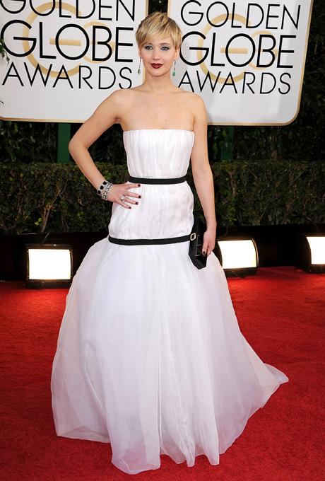 Jennifer Lawrence; designer: Dior