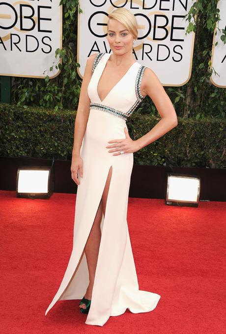 Margot Robbie; designer: Gucci