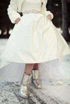 Cizme pentru nunta iarna