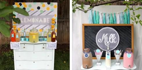 Un bar cu limonada sau cu lapte