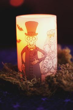 Lampadare din hartie Halloween