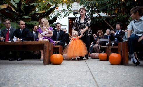 Aranjamente sala de nunta Halloween