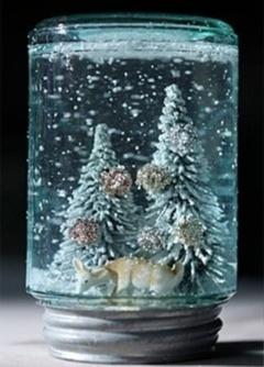 Glob de zapada pentru nunta iarna
