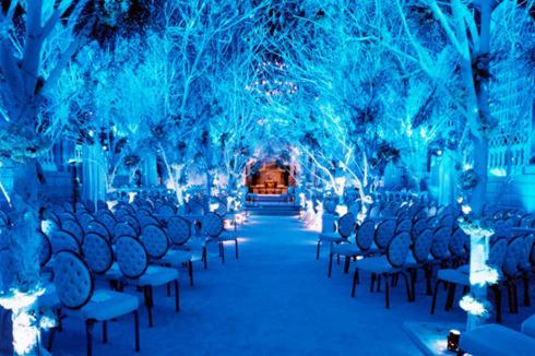 Decoruri pentru o nunta de iarna