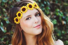 Coronita din floarea soarelui