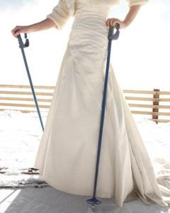 La nunta cu schiurile
