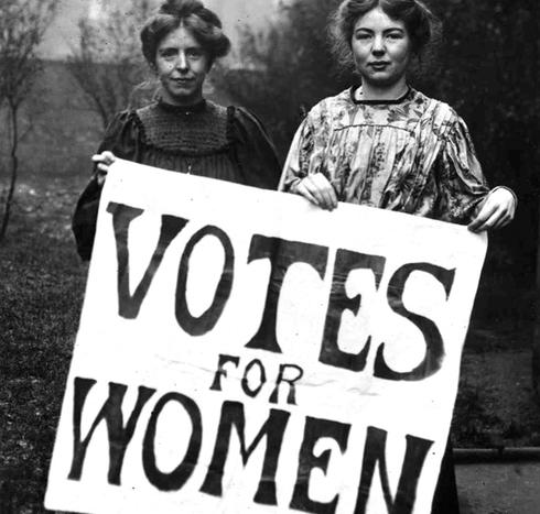 Dreptul femeii la vot