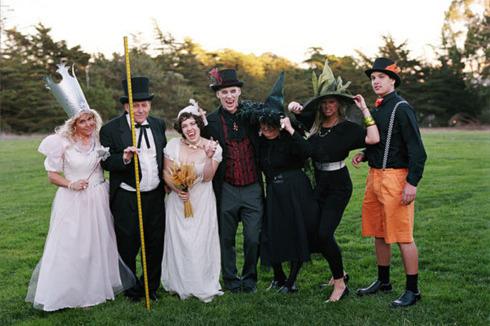 Nunta de Halloween cu vampiri