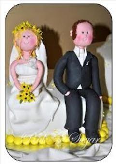 Figurine pentru tortul miresei