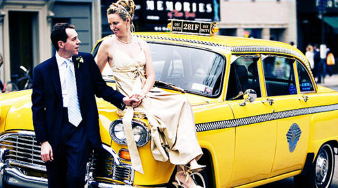 Nunta in taxi