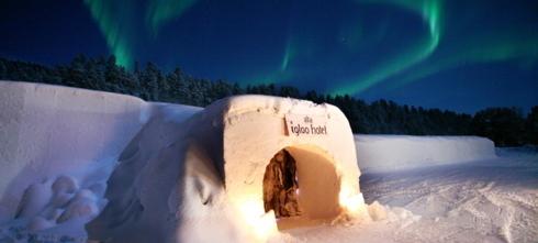 Nunta iarna la iglu