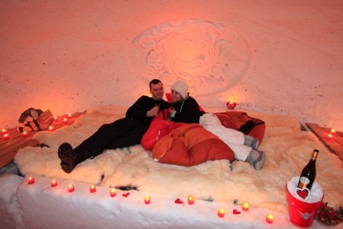 Prima noapte a nuntii la iglu