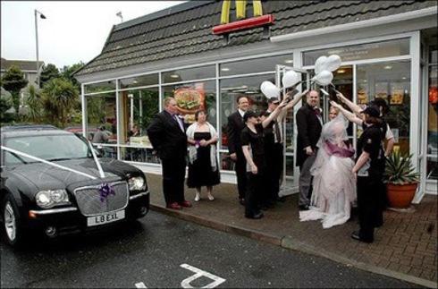Nunta la McDonald's