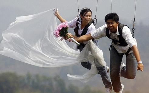 Nunta cu miri suspendati