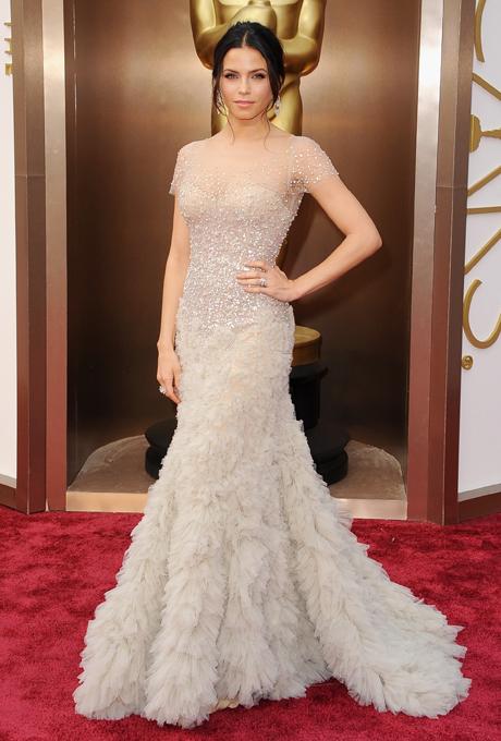 Jenna Dewan Tatum in rochie Reem Acra