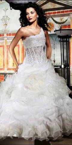 Свадебное платье MD20.  Фасон - Бальное.  Свадебные платья EDDY K.