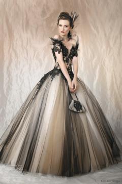 Rochie de mireasa de Halloween