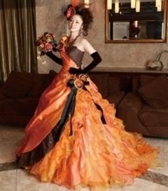 Rochia de mireasa de Halloween