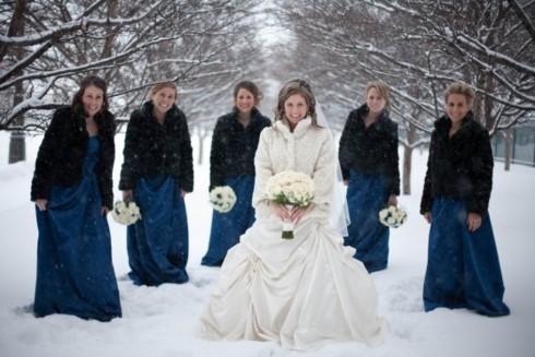 Idei pentru nunta de iarna