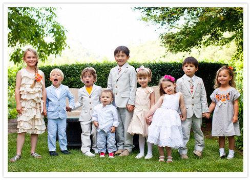 Inviti copiii la nunta?