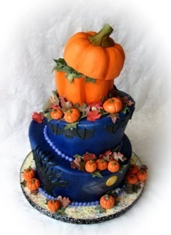 Tortul miresei de Halloween