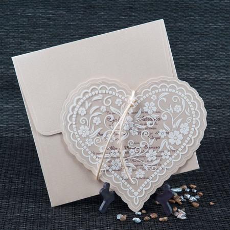 Invitatie de nunta Pret: 2 lei