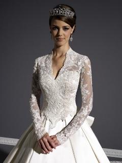 Rochie de mireasa in stil Kate Middleton