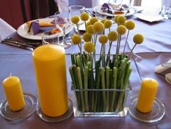 Aranjament de masa pentru nunta