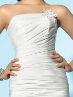 Rochie de mireasa scurta sub 2500 lei Decosta