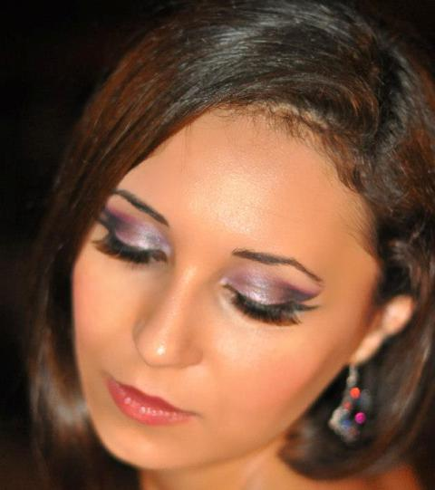 Smokey Eyes pe lila