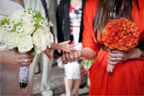 Buchetul nasei la nunta