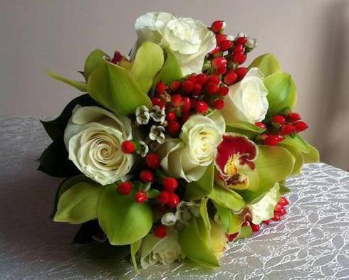 Buchet multicolor pentru nunta