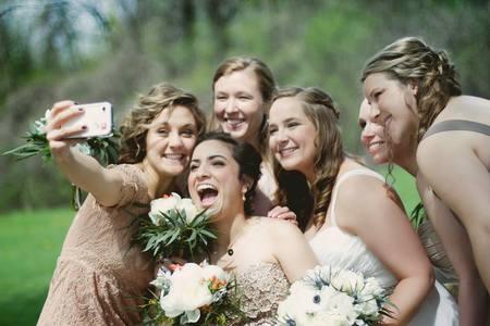 Selfie de nunta
