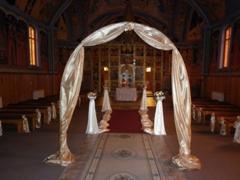 Arcada pentru biserica la nunta
